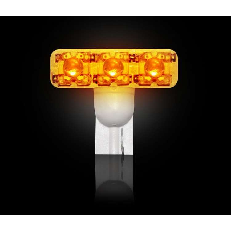 Recon 194 Wedge Style Amber L.E.D Bulb