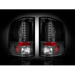 2007-2012 GMC Sierra 2500/3500 Recon Smoked LED Tail Lights