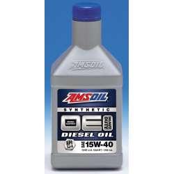 Amsoil Synthetic Diesel Engine Oil OE 15W-40, 12 QUART CASE