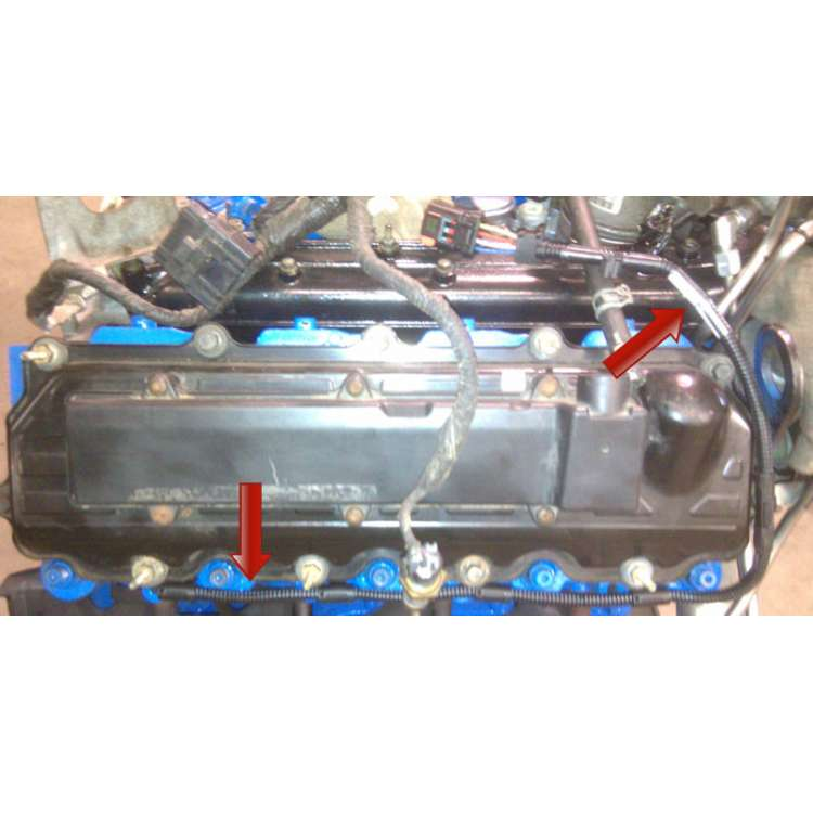 04-07 Ford 6.0L Powerstroke Drivers Side Glow Plug Harness