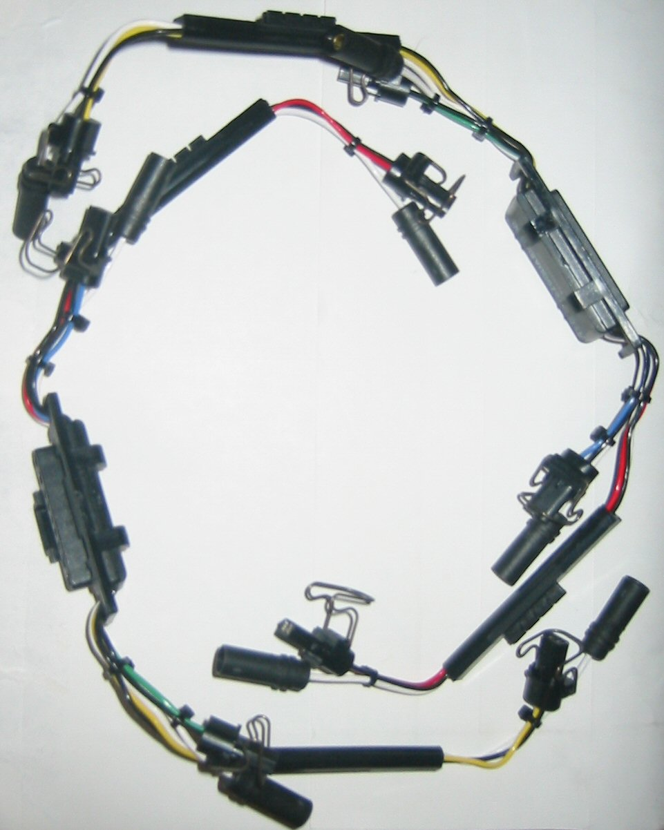 94-97 Ford 7.3L Powerstroke Diesel Injector Harness F4TZ9D930K | 97 Powerstroke Valve Cover Wiring And Harness |  | Pure Diesel Power
