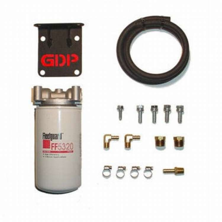 03-07 5.9L Cummins GDP MK-2 Filter Kit Without Engine Mounted APPS