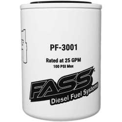 Fass Platinum Series Particulate Separator 3 Micron Filter