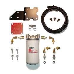 03-07 5.9L Cummins GDP MK-2 Filter Kit w/Big Line (Cylinder Head Mount)