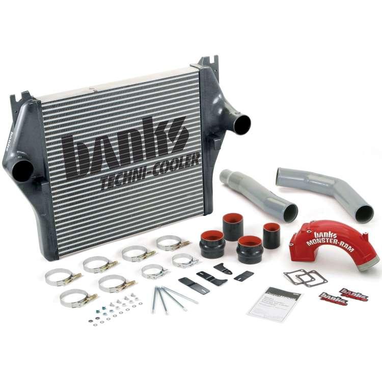 03-07 Dodge 5.9L Cummins Banks Techni-Cooler Intercooler System
