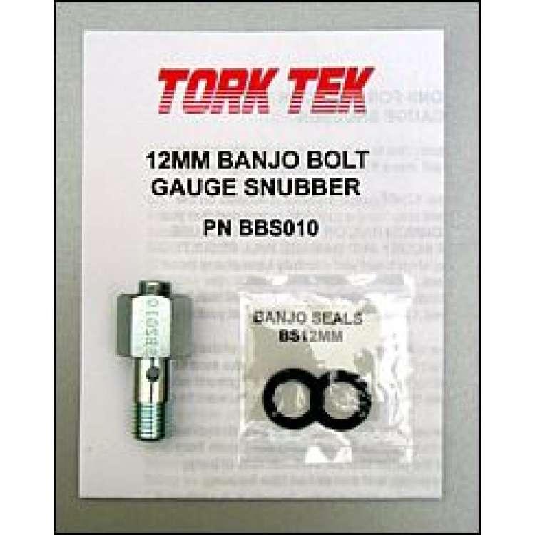 98.5-02 Dodge 5.9L 24V Cummins 12MM Banjo Bolt Fuel Pressure Gauge Snubber