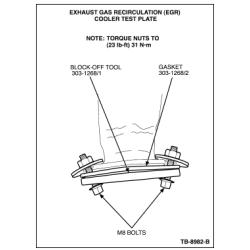 03-07 Ford 6.0L Powerstroke Aftermarket E.G.R. Housing Gasket