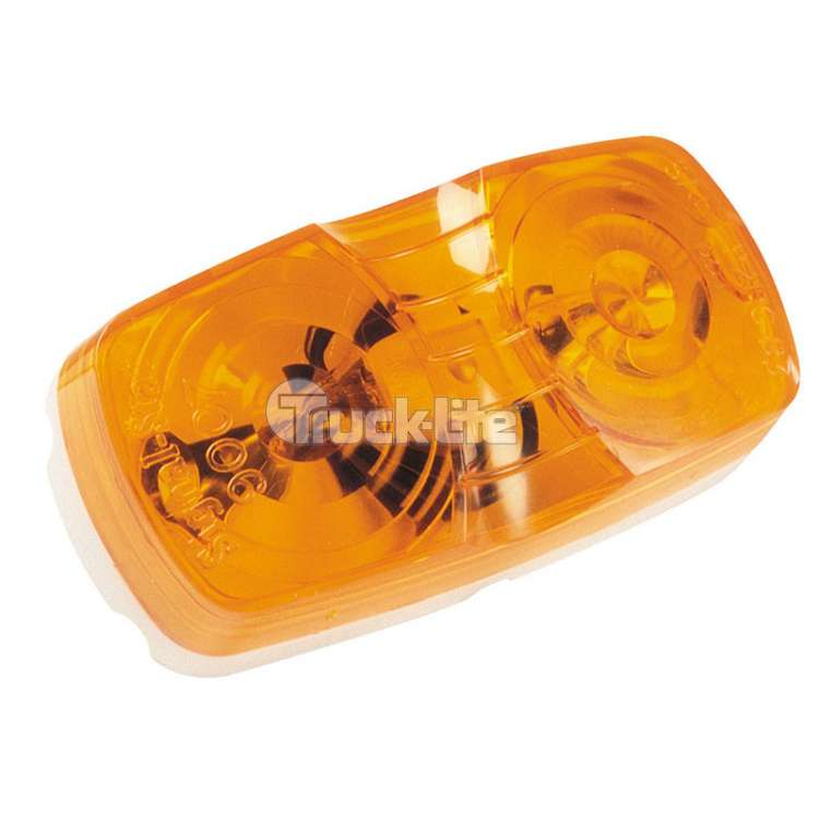 Truck Lite Shock/Mount Two Bulb Permastat Bulb Replaceable