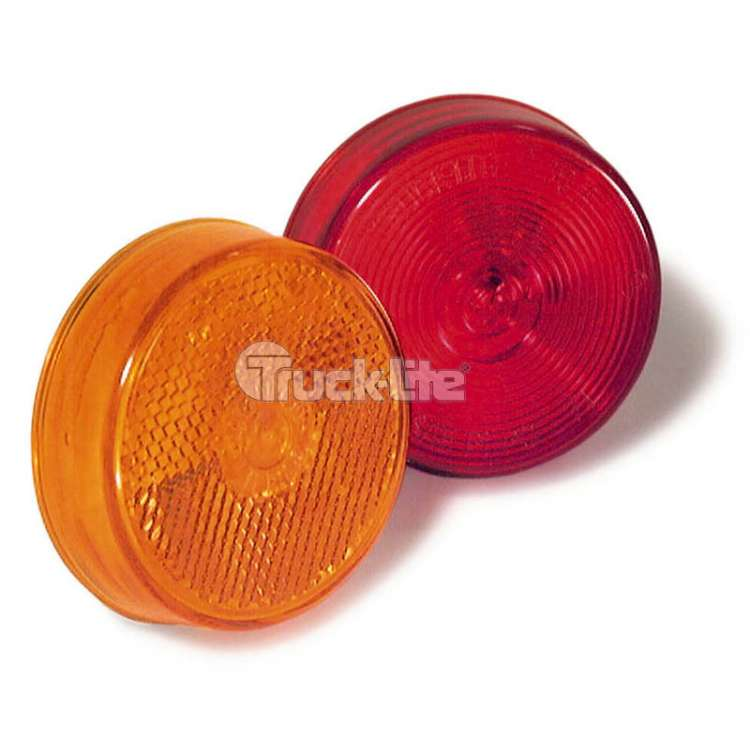 Truck Lite Model 10 2-1/2'' Sealed Round Light-Red