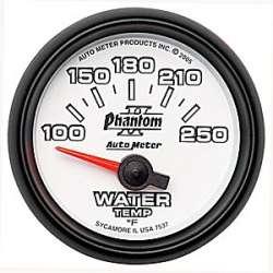 Phantom II 100-250º Water Temperature Gauge 7537