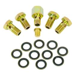 99-02 Dodge 5.9L Cummins BD Banjo Bolt Upgrade Kit
