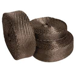 Heatshield Products Lava Exhaust Wrap 1 In Wide by 50' Long