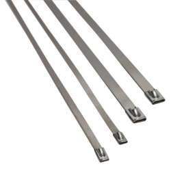 Heatshield Products 5/16 In x 20 In Thermal Tie Stainless Steel Locking Ties