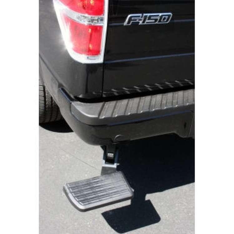 06+ Ford F150 BedStep Flip Down Bumper Step