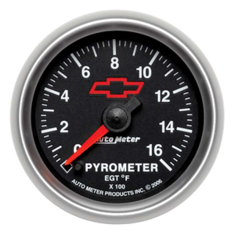 GM Performance Pyrometer 0-1600ºF Gauge 3644-00406