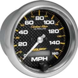 Carbon Fiber Electric Programmable Speedometer 4789