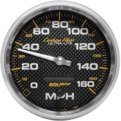 Carbon Fiber 5 In Electric Programmable Speedometer 4889