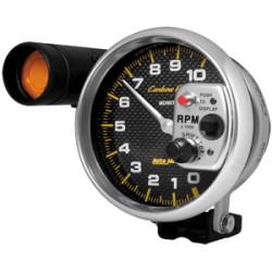 Carbon Fiber 5 In 0-10,000RPM Tachometer w/ Shift-Lite 4899