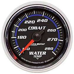 Cobalt 140-280°F Mechanical Coolant Temperature Gauge 6131