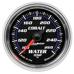 Cobalt Coolant Temperature 100-260°F Gauge 6155