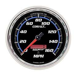 Cobalt 160MPH 5 In Speedometer Elec. Programmable 6289