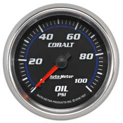 Cobalt 0-100PSI Mechanical Oil Pressure Gauge 7921