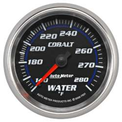 Cobalt 140-280ºF Mechanical Coolant Temperature Gauge 7931