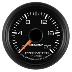 GM Factory Match 0°-2000°F Pyrometer Gauge 8345