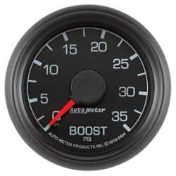 Ford Factory Match Diesel 0-35PSI Boost Gauge 8404