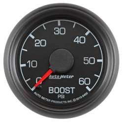 Ford Factory Match Diesel 0-60PSI Boost Gauge 8405