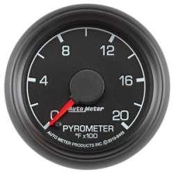 Ford Factory Match Diesel 0-2000° Pyrometer Gauge 8445