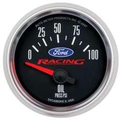 Ford Racing 0-100PSI Oil Pressure Gauge 880076