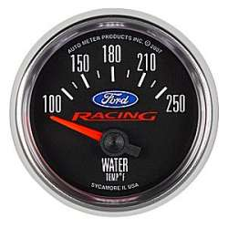 Ford Racing 100°-250°F Water Temperature Gauge 880077