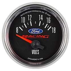 Ford Racing 8-18V Voltmeter Gauge 880081