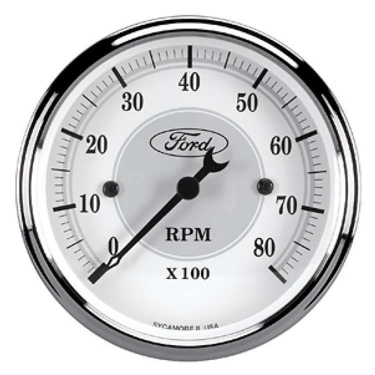 Ford Racing 0-10000RPM In Dash Tachometer 880084