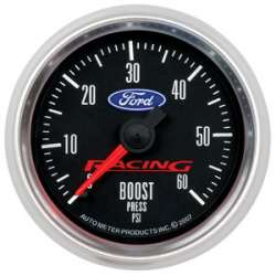 Ford Racing 0-60PSI Boost Gauge 880106