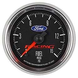 Ford Racing 0-15PSI Fuel Pressure Gauge 880107
