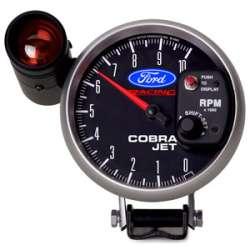 Ford Racing 0-10000RPM Cobra Jet Tachometer 880118