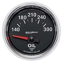 GS 140-300°F Oil Temp Air Core Gauge 3848