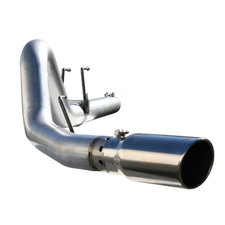 08-10 Ford 6.4L Powerstroke AFE Large Bore 4 In Stainless DPF Back Exhaust