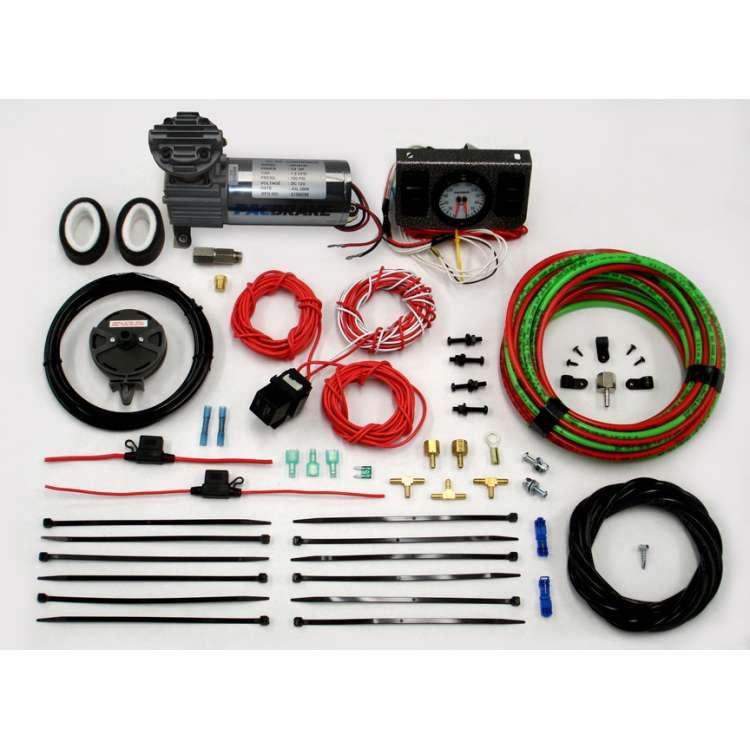 PacBrake Independent Dash Activaction Switch w/HP325 Compressor Kit