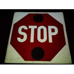 School Bus Stop Sign Replacement Decals