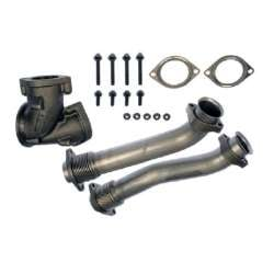 99.5-03 Ford 7.3L Powerstroke Diesel Bellowed Up Pipe Kit