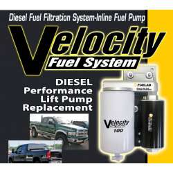 98.5-10 Dodge 5.9/6.7L Cummins Velocity Fuel System 18PSI-100GPH