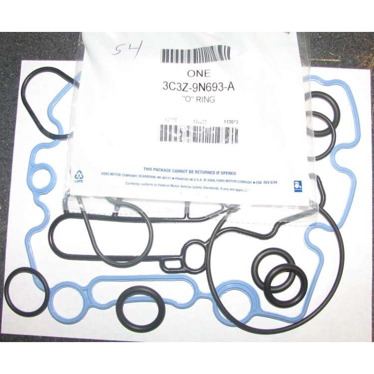 03-07 Ford 6.0L Powerstroke Oil Cooler Gasket Kit