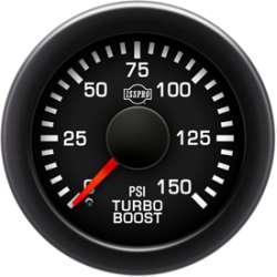 EV² R12000 Series 0-150 Electronic Turbo Boost Gauge R12733