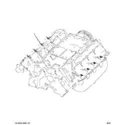 2003 Ford 6.0L Powerstroke Long Glow Plug