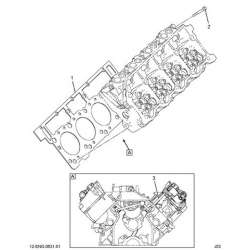 03-07 Ford 6.0L Powerstroke 18mm Head Gasket Set (One Head)