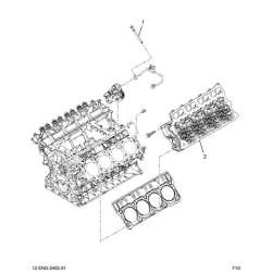 02-05 Ford 6.0L Powerstroke Factory Cylinder Head & Gasket