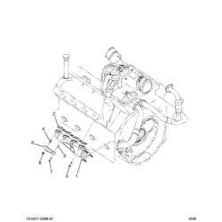 03-07 Ford 6.0L Powerstroke Exhaust Manifold Gasket